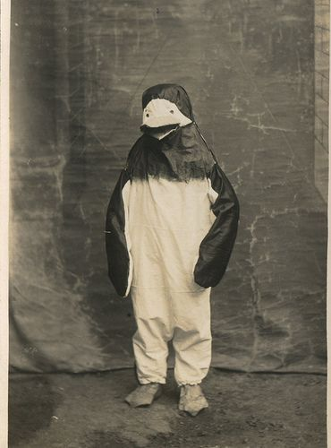 Penguin from the past.Strange, Costumes, Creepy Weird Bizarre, Random Things, Antiques Photos, Vintage Photography, Penguins, Foundvintag Photos, Old Photos
