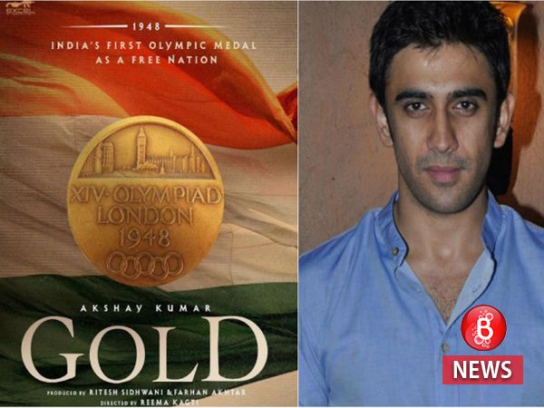 Amit Sadh joins Akshay Kumar-starrer 'Gold' in an important role