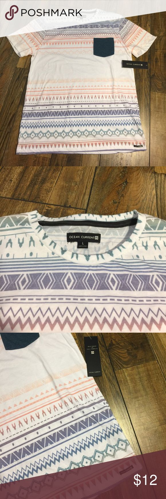 Ocean Current Tee NWT NWT Men's T-Shirt ~ Never worn ~ New with tags Ocean Current Shirts Tees - Short Sleeve