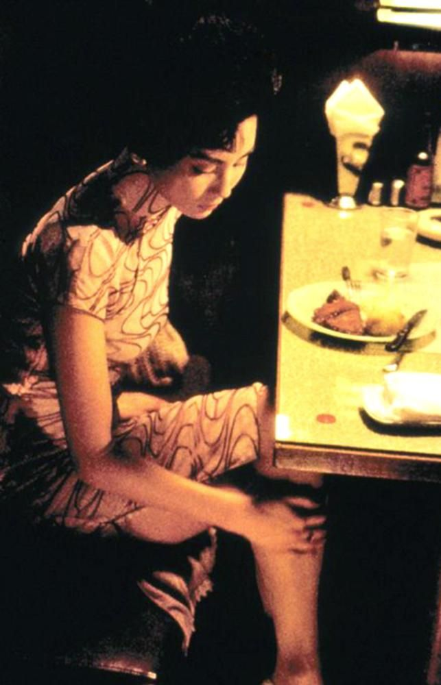 Maggie Cheung in In the Mood for Love directed by Wong Kar-Wai, 2000