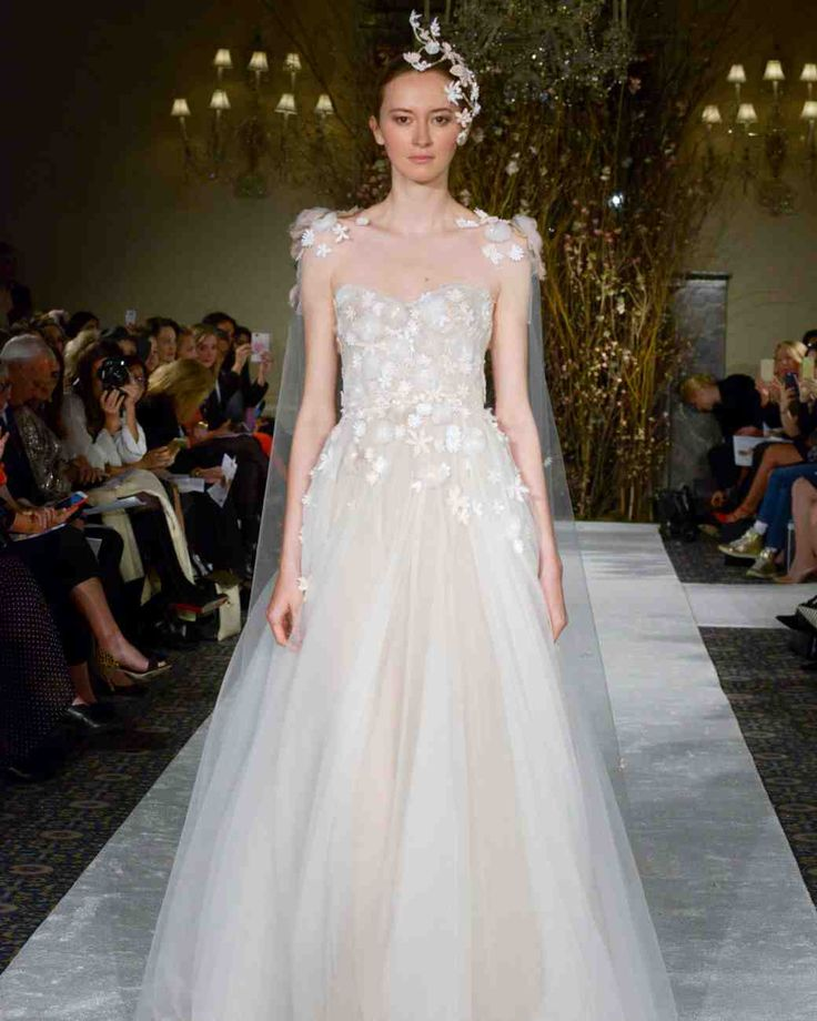 The 9 Best Wedding Dress Trends from Bridal Fashion Week | Martha Stewart Weddings - Capes and Capelets