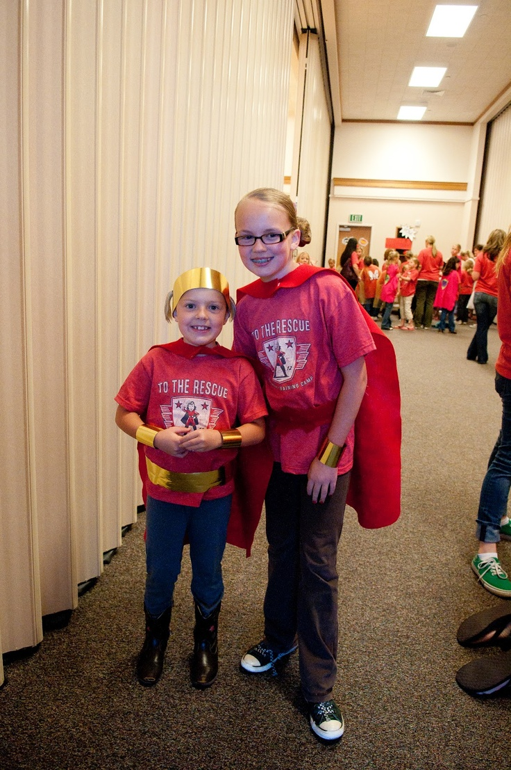Activity Day Camp 2012: Superhero Training Camp - I totally want to do this for my camp this year!