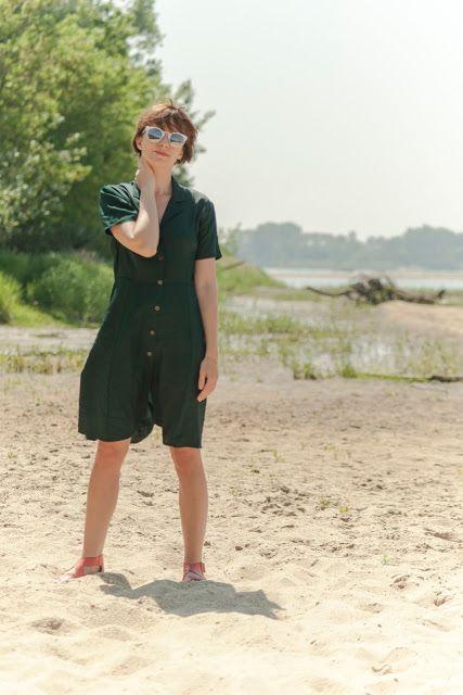 StyleMania: A GREEN DRESS