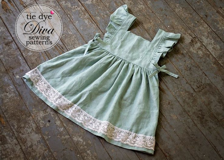 Tie Dye Diva Patterns: Tutorial Tuesday: Make a Wear-Alone Dress from the Storybook Pinafore Pattern