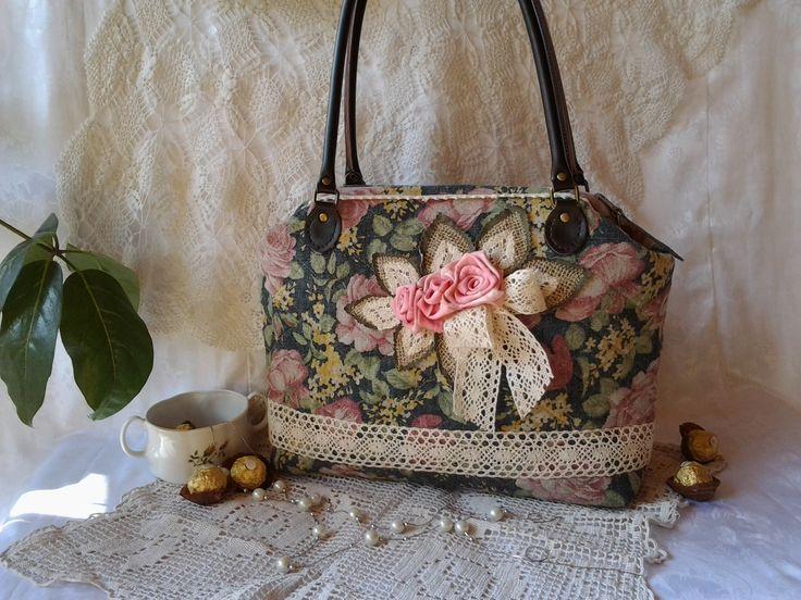 www.facebook.com/ilko2 egyedi lenvászon táska