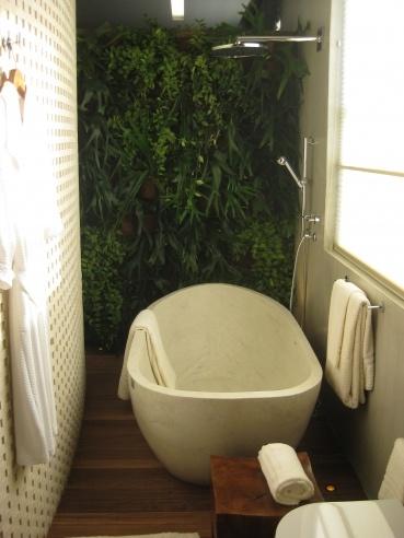 Indoor Jungle Bathroom