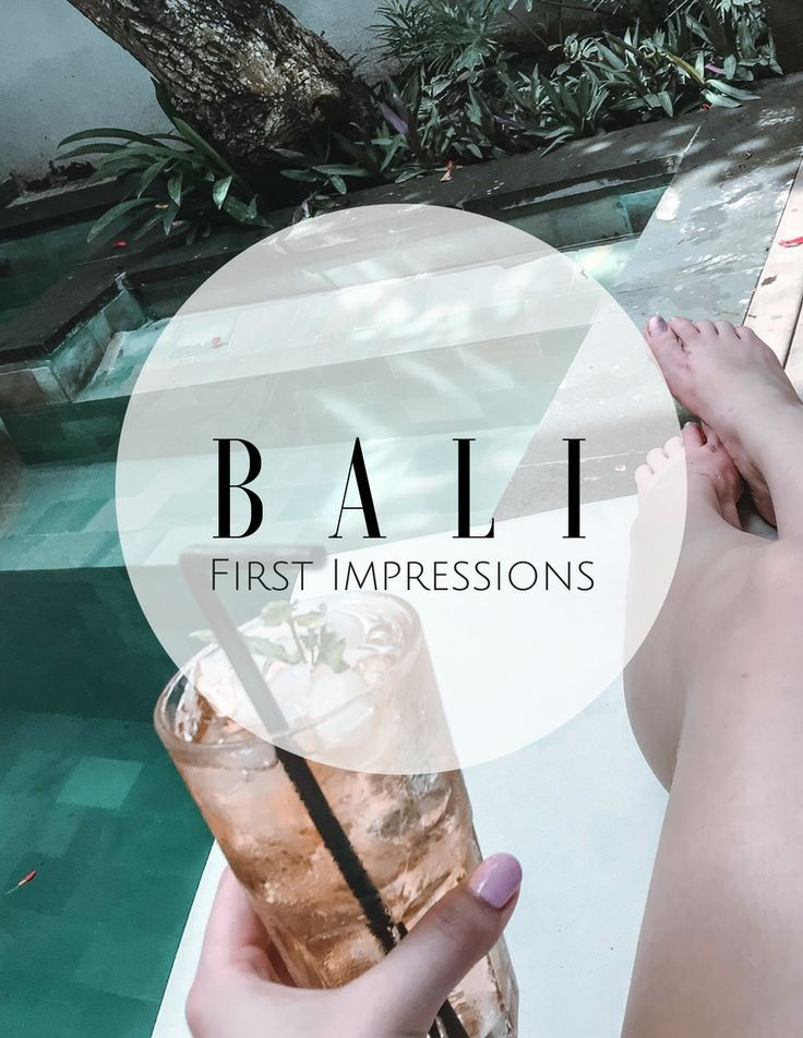 SAFE, SOUND & READY TO GIVE YOU MY FIRST IMPRESSIONS OF BALI!