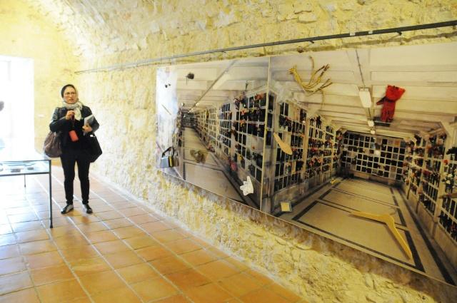 Visita guiada de Carmen Calvo a su exposición en la fundación Antonio Pérez  Foto:cuencaon