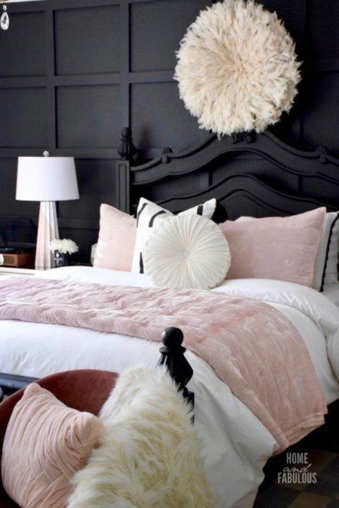 Dramatic And Moody This Bedroom Makeover Was Created For