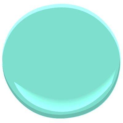 Ben Moore Color Preview Collection Bermuda Teal 2044-50
