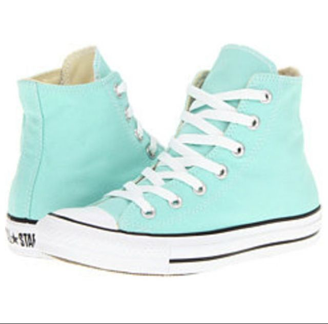 Teal converse - want them in low top version!