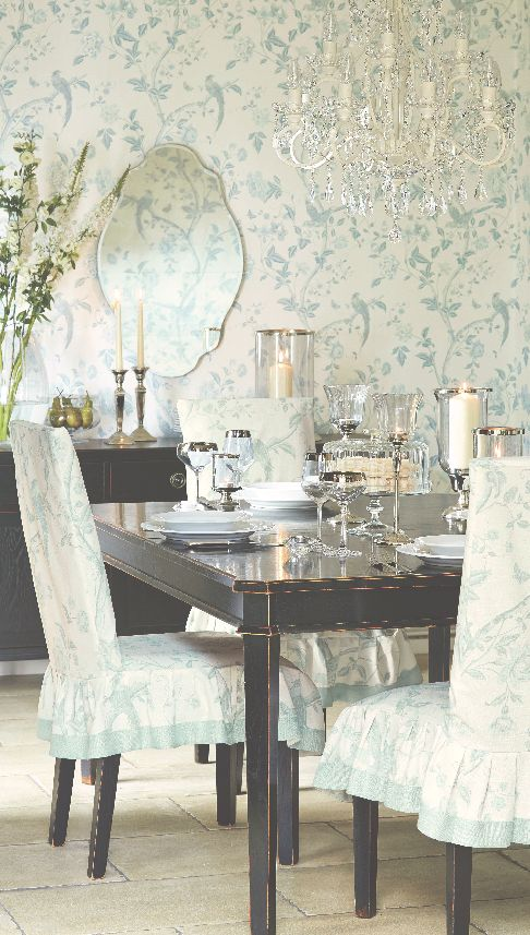 Laura Ashley Spring/Summer 2015: Summer Palace Collection #interiors