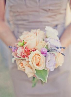 Shades of pastel bouquet