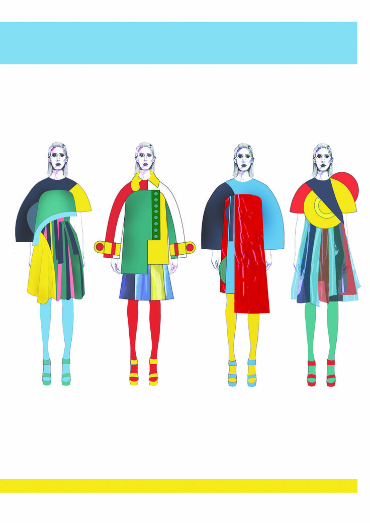 2015 Westminster Fashion illustration : Lisa Barnett.