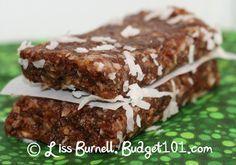 25 Homemade Larabar Recipes #vegan #paleo  (make peanut recipes Paleo by using almonds instead of peanuts)