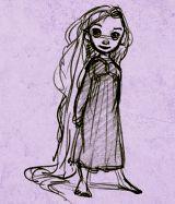 Young Rapunzel: Cartoons Disney, Favorite Disney, Young Rapunzel, Disney Princesses, Disney 3, Adorable Rapunzel, Baby Rapunzel, Princesses Rapunzel, Disney Awesome