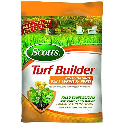 Scotts Turf Builder Lawn Food - WinterGuard Fall Weed & Feed, 5,000-sq ft (Lawn Fertilizer Plus Dandelion & Weed Killer)  //Price: $ & FREE Shipping //    #home #interior #mirror #decor #design