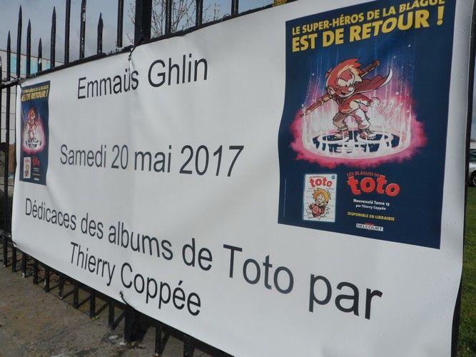 """Samedi 20 mai 2017 : date à ne pas oublier ! Dédicaces des albums """"Les blagues de Toto"""" dès 10h."""
