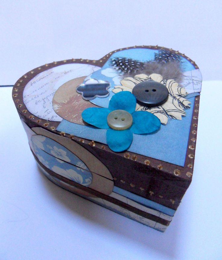 1000 images about scrapbooking objets on pinterest bijoux scrapbooking - Fleur en forme de coeur ...