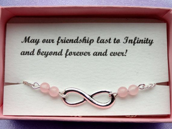 Infinty anklet Friendship gift Silver infinity rose by GemmaJolee, $11.75