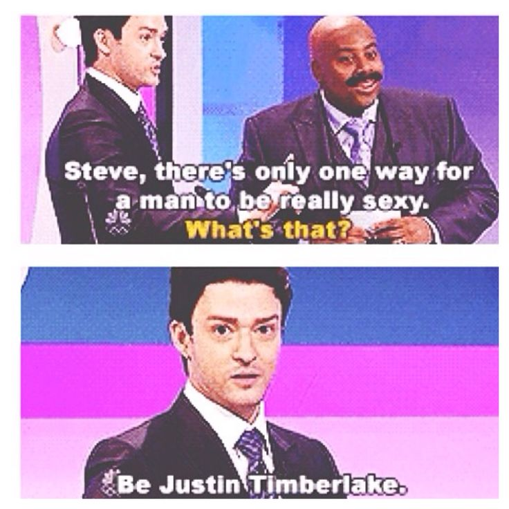 Justin Timberlake on how to be sexy....