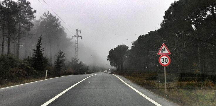 Garipçe Rumeli Feneri yolu, Rumeli Kavağı #rumelikavağı
