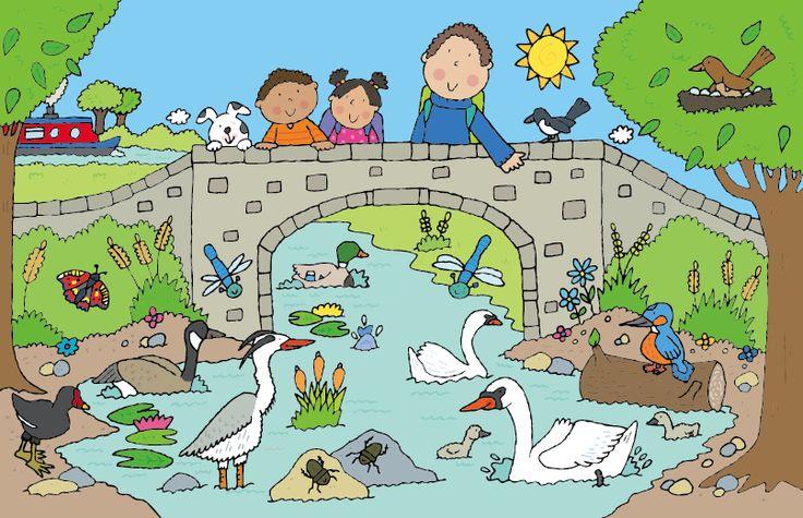 Wildlife Nature Children Illustration