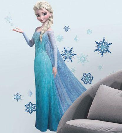 Disney Frozen Elsa Wall Decoration Decal