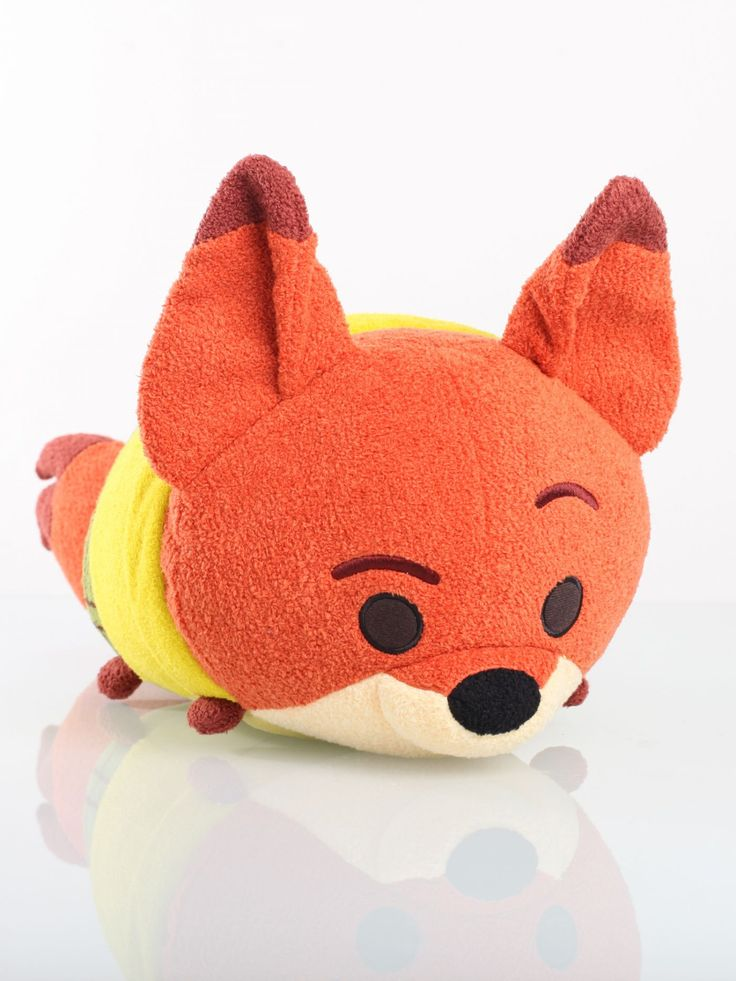 Disney Tsum Tsum Nick Wilde Medium - Latest Tsum Tsum Collection - Disney Tsum Tsum - Soft Toys - Gifts | Clintons