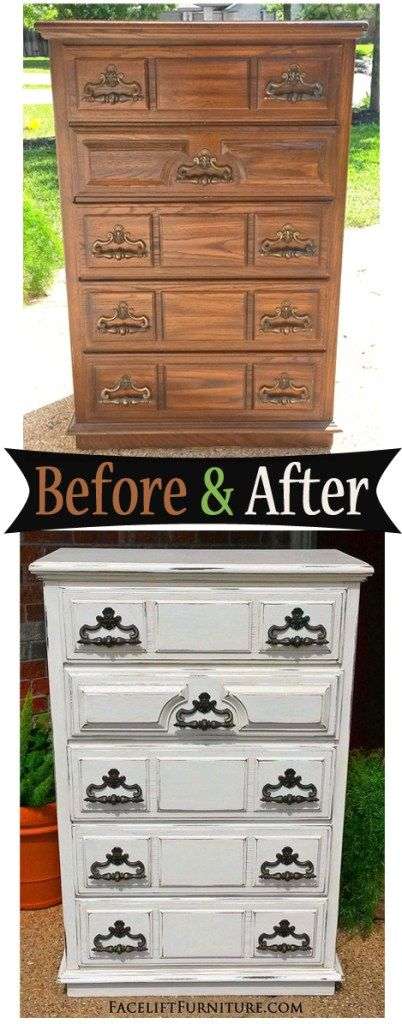 refinishing bedroom furniture ideas. vintage chest in distressed off white before u0026 after refinishing bedroom furniture ideas