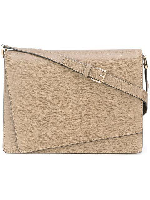 VALEXTRA 'Twist' Shoulder Bag. #valextra #bags #shoulder bags #leather #