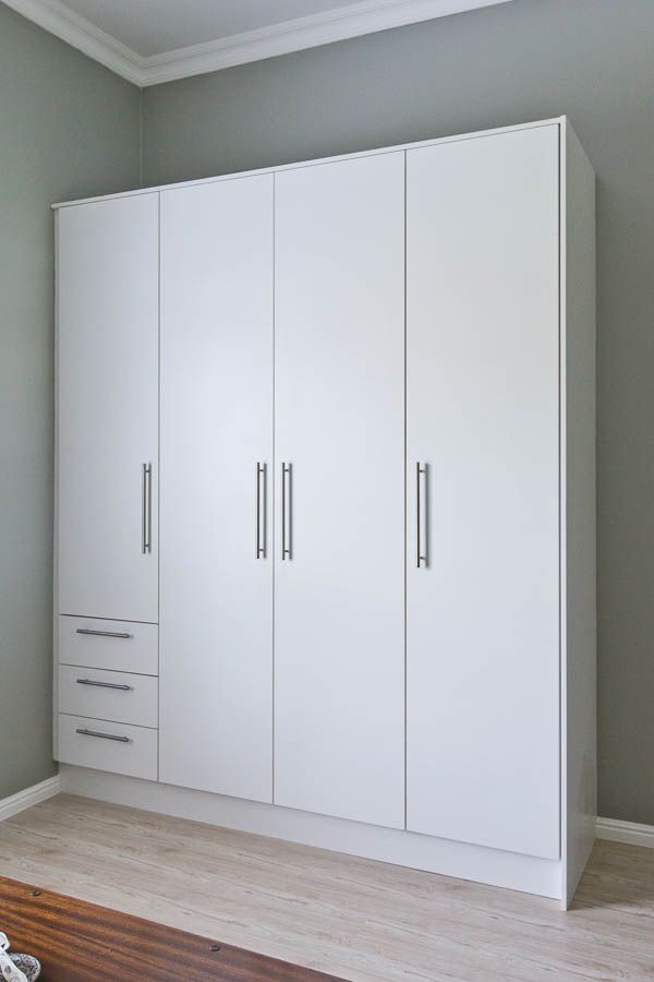 bedroom cupboards for narrow space