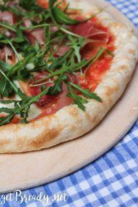 """Pizza """"napoletana"""" con crudo e rucola – getBready"""