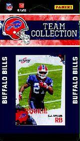 Buffalo Bills 2010 Score Team Set
