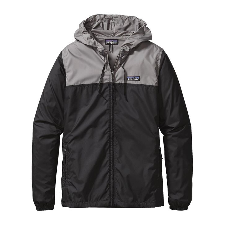 The Patagonia Women's Light & Variable™ Hoody is a perfectly pared-down windbreaker hoody that stuffs into its own pouch for travel ease.