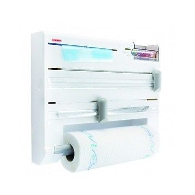 #towel roll holder wall #mounted cling film foil freezer bags kitchen #accessori,  View more on the LINK: 	http://www.zeppy.io/product/gb/2/322040808413/