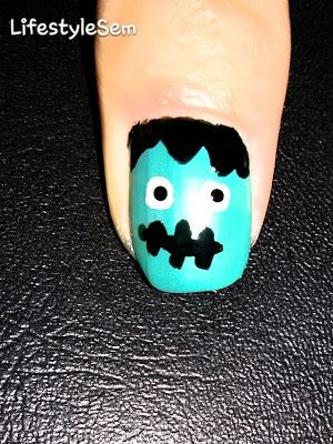 LifestyleSem.Blogspot.Ro: Manichiura Halloween