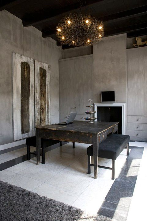 Amazing space, fresco lime paint from Pure & Original