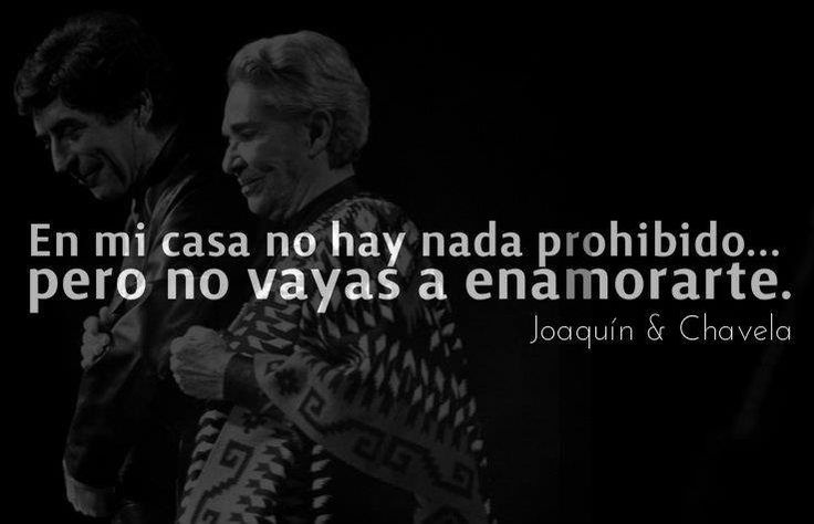 frase Sabina Chavela Vargas: