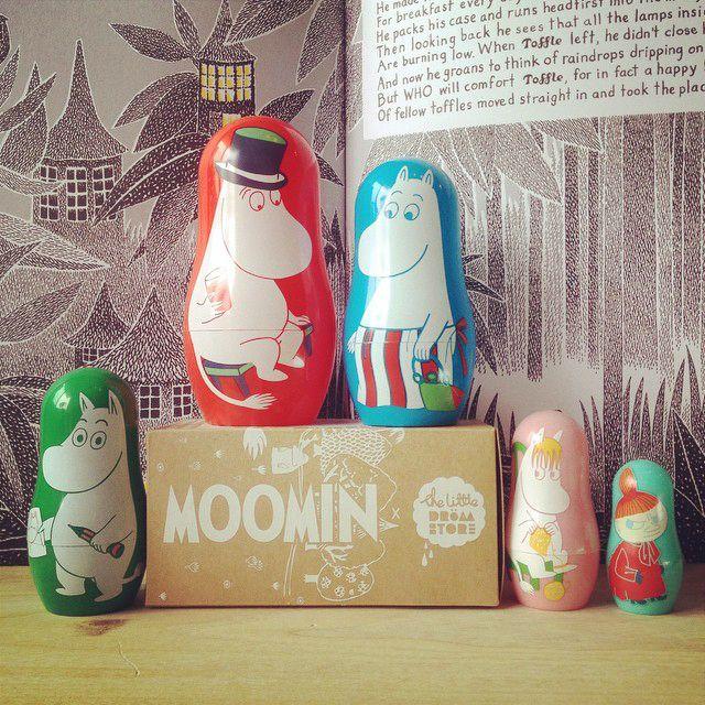 Image of Moomin Nesting Dolls *NEW*