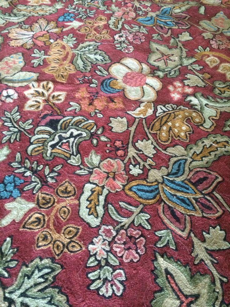 """Authentic Ralph Lauren Wool Tweed Rug Handmade Made in India - 69"""" x 112"""" Furniture by VintageDefinesLuxury on Etsy"""