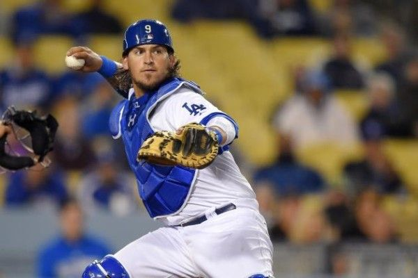 90. Yasmani Grandal #9  -      Yasmani Grandal is a Cuban-American professional baseball catcher for the Los Angeles Dodgers of Major League Baseball. He played college baseball at the University of Miami. He previously played for the San Diego Padres