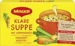 myTime.de Angebote Maggi Klare Suppe mit Suppengrün, ergibt 8 Liter: Category: Essig, Öl & Gewürze > Brühe & Fonds >…%#lebensmittel%