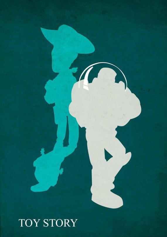 Pixar Film Print Units Minimalist, Toy Story, Discovering Nemo, Monsters Inc, Film Poster, pixar poster set, disney poster, Minimalist Poster