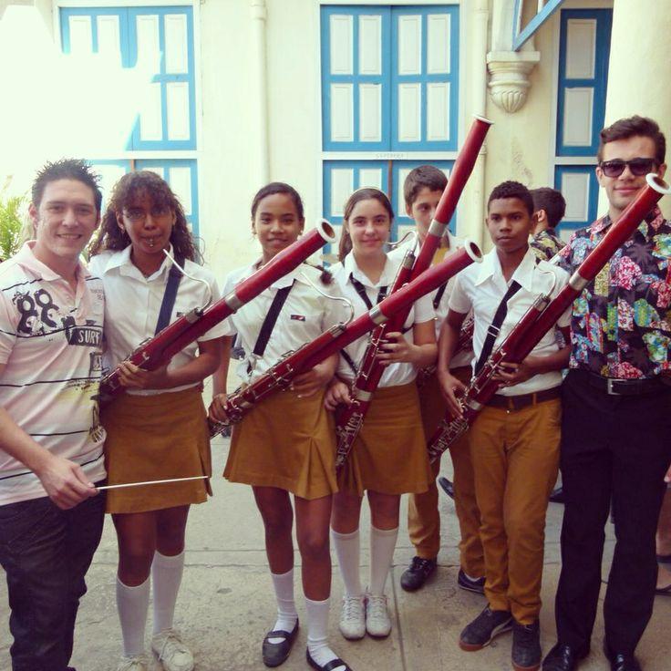 Bassoons in Havana