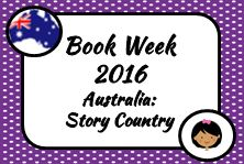 Book Week 2016. Australia Story Country. Miss Jenny's Classroom. Board Cover.