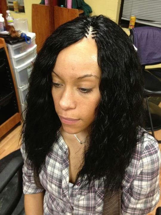 Wet And Wavy Hairstyles Pictures