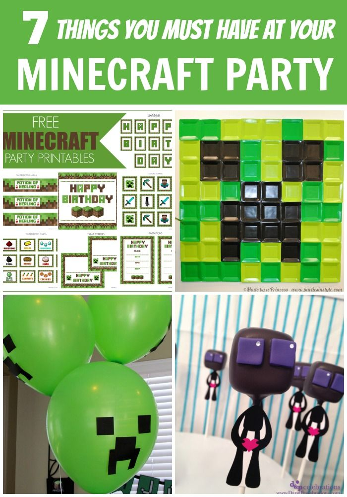 7 Must Have Kitchen Tools Every Home Needs: 7 Things You Must Have At Your Minecraft Party