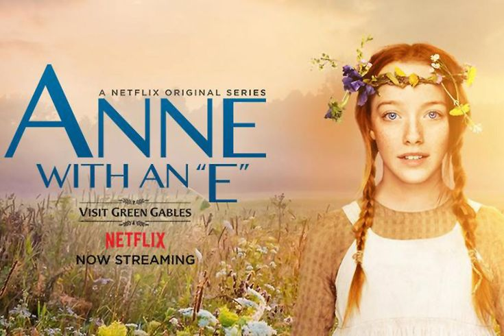 """ANNE With An """"E"""" (Netflix/Worldwide-CBC/Canada-March 19, 2017) a Canadian TV series based on the 1908 novel Anne of Green Gables by Lucy Maud Montgomery, and adapted by Emmy Award-winning writer and producer Moira Walley-Beckett. Directed by Niki Caro.  A young orphan Anne, seeks love, acceptance, a place in the world. She has endured abuse in the many orphanage and homes of strangers in the 1890s. Stars: Amybeth McNulty, Geraldine James, R.H. Thomson, Lucas Jade Zumann."""