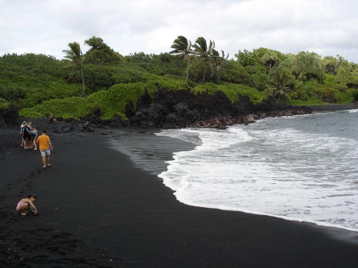 Black Sand Beaches | Photo of Black Sand Beach]